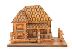 Wooden house Stock Photos