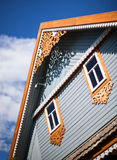 Wooden house, Poland Stock Images