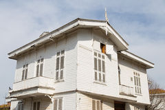 Wooden House in Princes Islands Royalty Free Stock Photo