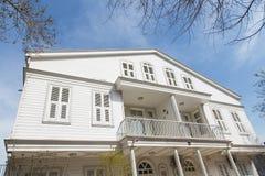 Wooden House in Princes Islands Stock Photos