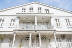 Wooden House in Princes Islands Royalty Free Stock Images