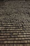 Wooden house roof Stock Images