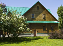 Wooden house, Russia Royalty Free Stock Photo