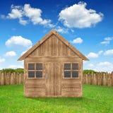 Wooden house Stock Photos