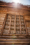 Wooden house in Thailand. Royalty Free Stock Photography
