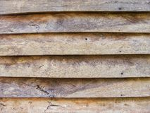 Wooden house wall Stock Images