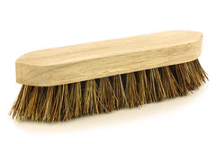 Wooden household brush Royalty Free Stock Photo