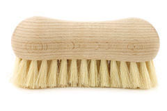 Wooden household brush Royalty Free Stock Photos