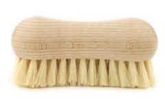 Wooden household brush Stock Photos