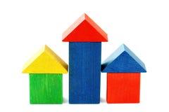 Wooden houses Stock Photo