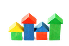 Wooden houses royalty free stock photography