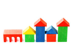 Wooden houses Royalty Free Stock Photo