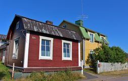 Wooden houses Royalty Free Stock Image