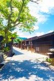 Wooden Houses Center Tsumago Nakasendo Royalty Free Stock Images