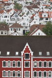 Wooden houses in Gamle Stavanger, Norway Royalty Free Stock Images