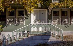 Wooden houses in Istanbul Stock Photos