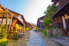 Free Wooden Houses Nakasendo Trail Magome Morning Stock Photo - 78990480