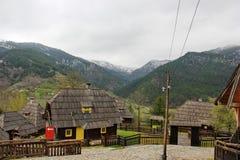 Wooden houses Stock Photos