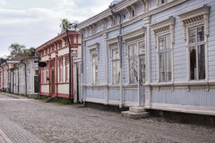 Wooden Housing - UNESCO World Heritage site Royalty Free Stock Images