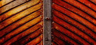 Wooden hull Royalty Free Stock Photo