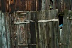 Wooden hut Stock Image