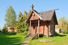 Wooden hut Royalty Free Stock Image