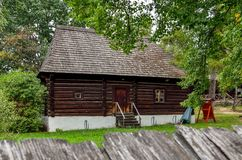 Old wooden building. Royalty Free Stock Photo