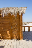 A wooden hut Stock Photography