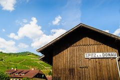 Wooden Hut in Wachau Royalty Free Stock Images