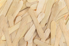 Wooden ice cream stick for background Stock Photo