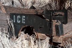 Wooden Ice Wagon Royalty Free Stock Photos