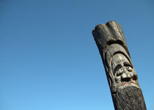 Wooden idol Stock Photo