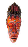 Wooden idol mask Royalty Free Stock Images