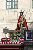 Wooden image of Jesus Stock Image