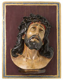 Wooden Image of Jesus Christ Stock Image