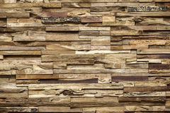 Wooden indoor wall with relief royalty free stock photos