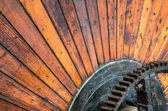 Wooden Industrial Wheel Stock Photos