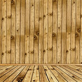Wooden interior Royalty Free Stock Image