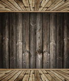 Wooden interior Royalty Free Stock Photo