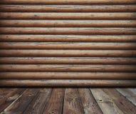 Wooden interior Stock Photos