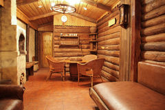 Wooden interior Royalty Free Stock Images