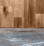 Wooden interior. Old grunge interior, wooden background Royalty Free Stock Photography