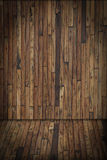 Wooden interior room Royalty Free Stock Image