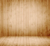 Wooden Interior room Stock Photography