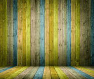 Wooden Interior room Royalty Free Stock Photo