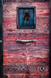 Wooden and Iron Ancient Door Stock Photos