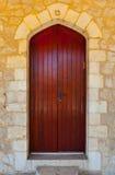 Wooden Israel Door Royalty Free Stock Photo