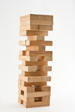 Wooden jenga Stock Photos