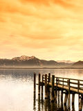 Wooden jetty (133) Royalty Free Stock Image