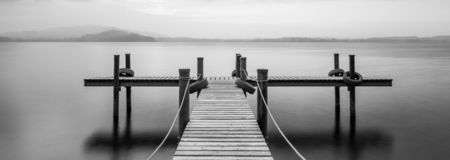 Free Wooden Jetty. Stock Image - 146369711